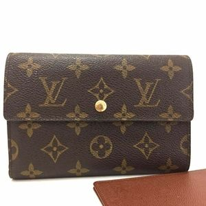 Louis Vuitton Monogram Porte Tresor Trifold Wallet